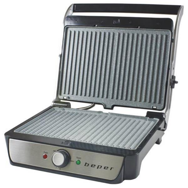 Τοστιέρα με Αφαιρούμενες Πλάκες 2000w Grill Beper BT.300