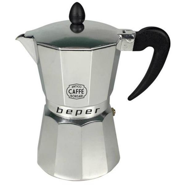 Καφετιέρα Espresso 6 Φλυτζανιών Κατάλληλη & για Επαγωγικές Εστίες Beper CA.013