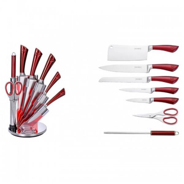 Σετ Μαχαίρια & Εργαλεία Κουζίνας 8τμχ Royalty Line KSS804
