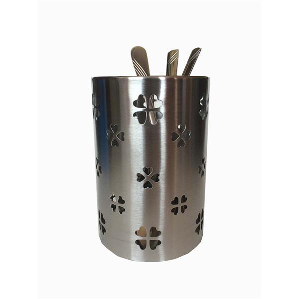 Κουταλοθήκη Στρογγυλή Inox 10cm x 14.5cm Home&Style 7355326-96/12