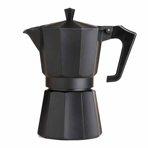 Μηχανή Espresso Μαύρη Αλουμινίου για 2 Φλυτζάνια Home&Style 7355022-60