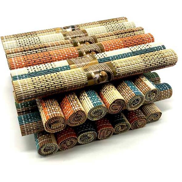 Σουπλά Bamboo 45cm x 30cm Διάφορα Χρώματα Home&Style 735006-240/30