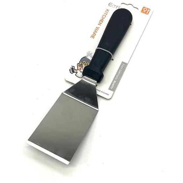 Σπάτουλα Τετράγωνη Inox με Πλαστική Λαβή 25cm Home&Style 735041-120/12