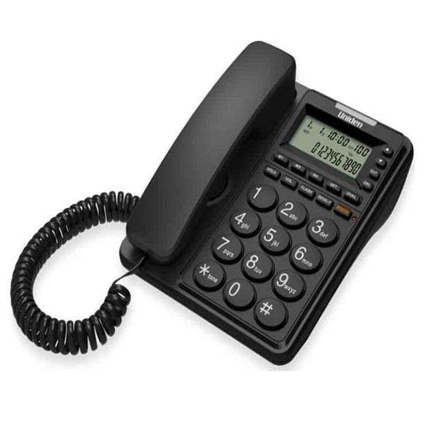 Σταθερό Τηλέφωνο Uniden CE-6409 Μαύρο