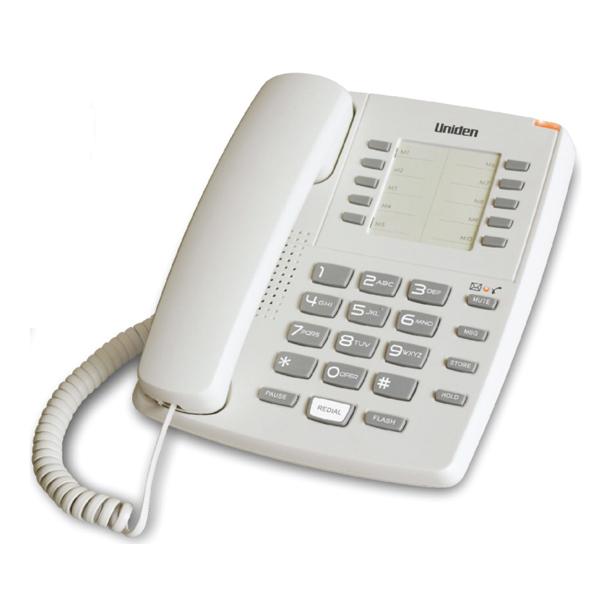 Σταθερό Τηλέφωνο Uniden AS7201 Λευκό