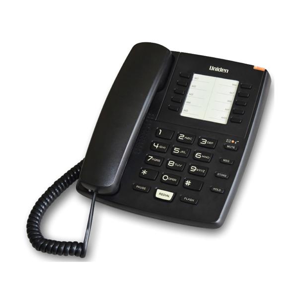 Σταθερό Τηλέφωνο Uniden AS7201 Μαύρο