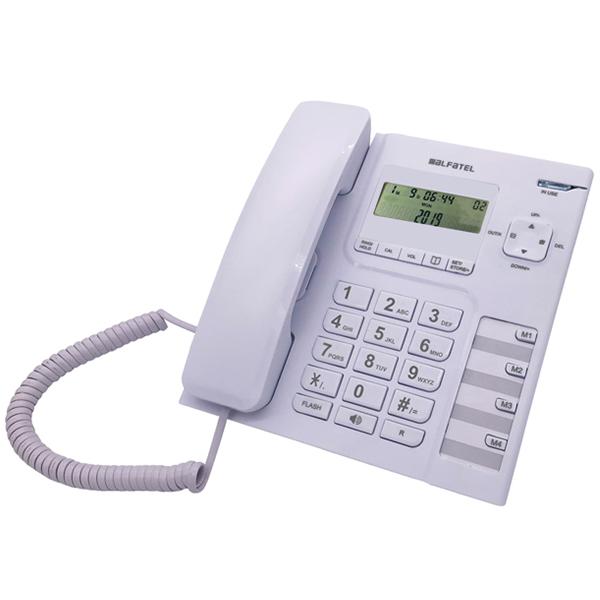 Σταθερό Τηλέφωνο Alfatel 1308 Λευκό