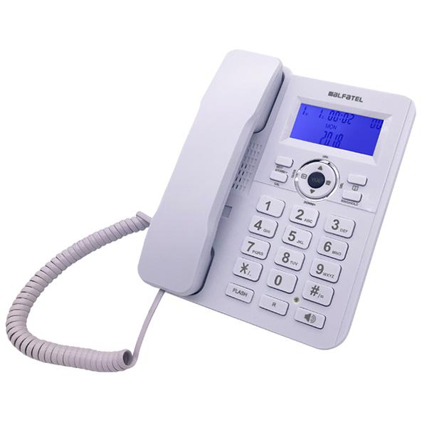 Σταθερό Τηλέφωνο Alfatel 1210 Λευκό