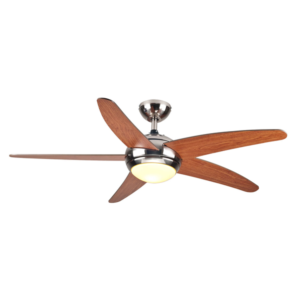 """Ανεμιστήρας Οροφής Τηλεχειριζόμενος 1 Φως 5 Φτερά 52"""" 60W Human R52001XY1L"""