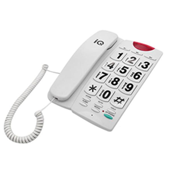 Σταθερό Τηλέφωνο IQ DT-836ΒΒ Λευκό