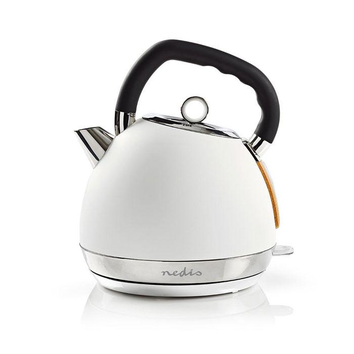 Βραστήρας 1.8lt 2200W Nedis KAWK520EWT Λευκό Soft-Touch