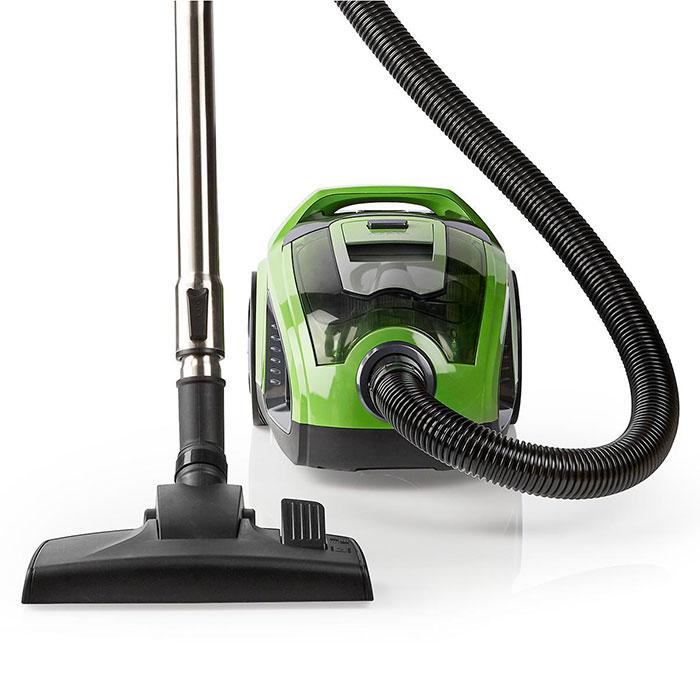 Ηλεκτρική Σκούπα Χωρίς Σακούλα 500W Nedis VCBS300GN Πράσινη