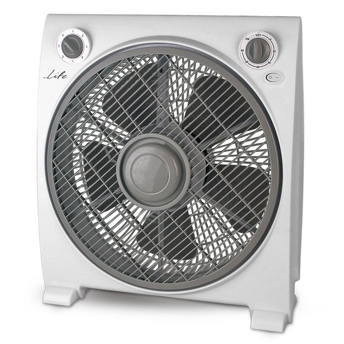 """Ανεμιστήρας Box Fan 12"""" 50W Life Vento"""