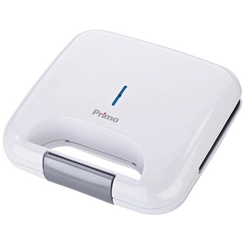 Τοστιέρα Primo PRSM-40211 2 Θέσεων Αντικολλητικές Πλάκες Λευκή