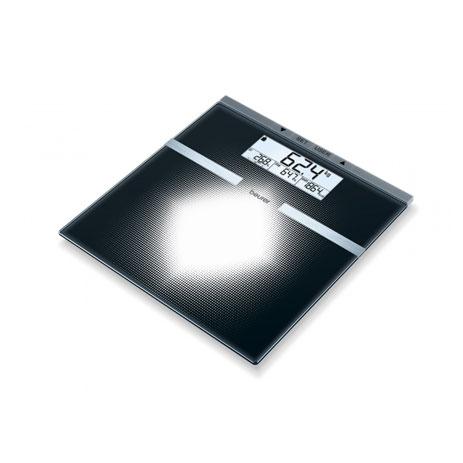 Γυάλινη Ζυγαριά Μέτρησης-Διάγνωσης Beurer BG21