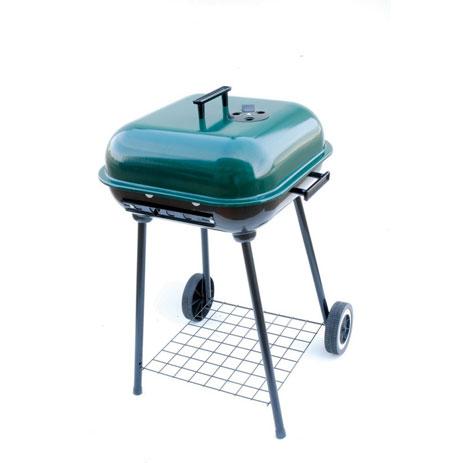 Unigreen, Ψησταριά BBQ, Με Ρόδες 40χ40cm khpos outdoor camping khpos beranta chstaries barbecue